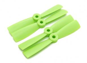 Diatone Bull Nose Plastic Hélices 4 x 4,5 (CW / CCW) (Vert) (2 paires)