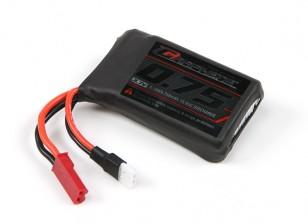 Turnigy graphène 750mAh LiPo Paquet 1S w / JST-SYP-2P