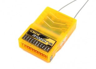 OrangeRx R1020X V2 10CH 2.4GHz DSM2 / DSMX Comp Full Range Rx w / Sat, Div Ant, F / Safe & SBUS