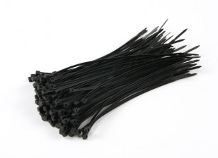 Cable Ties 150mm x 3mm noir (100pcs)