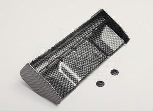 1/8 aile finition en fibre de carbone avec des rondelles de montage