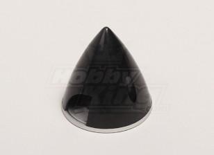 Nylon Spinner avec alliage Backplate 51mm Noir