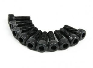 Métal Socket Head Machine Vis hexagonale M3x8-10pcs / set