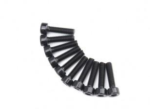 Métal Socket Head Machine Vis hexagonale M4x16-10pcs / set