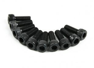 Métal Socket Head Machine Vis hexagonale M5x14-10pcs / set