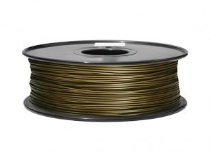 HobbyKing 3D Filament Imprimante 1.75mm Métal Composite 0.5KG Spool (laiton)