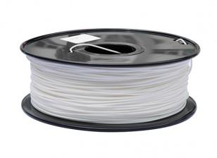 HobbyKing 3D Filament Imprimante 1.75mm PLA 1KG Spool (Blanc)
