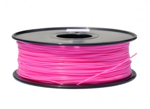 HobbyKing 3D Filament Imprimante 1.75mm PLA 1KG Spool (Rose)