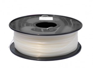 HobbyKing 3D Filament Imprimante 1.75mm Polycarbonate ou PC 1KG Spool (Blanc)