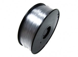 HobbyKing 3D Filament Imprimante 1.75mm flexible 0.8KG Spool (Transparent)
