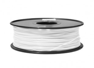 HobbyKing 3D Filament imprimante 1.75mm ABS 1KG Spool (Blanc)