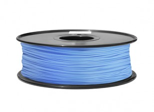 HobbyKing 3D Filament imprimante 1.75mm ABS 1KG Spool (Bleu P291C)