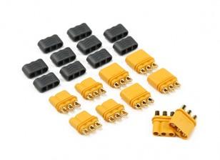 connecteur de mâles et femelles de MR30-2.0mm (5sets par sac)