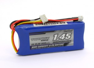 Turnigy 1450mAh 3S 11.1v Transmetteur Lipoly Paquet