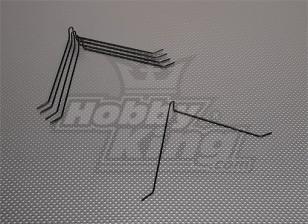 Lumière Fil Landing Strut D1.8x145mm (5pcs / bag)