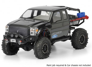 Shell Body Pro-Line Ford F-250 Super Double Cab Clear pour SCX10 Trail Honcho