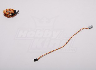 Twisted 30CM Servo Extention Lead (JR) 22AWG (5pcs / set)