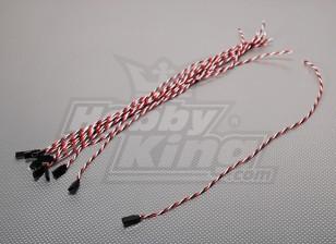 45cm Femme 22AWG Twisted (10pcs / bag)