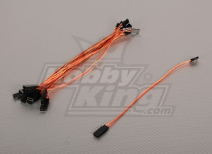 20cm Servo Lead (JR) 32AWG Ultra Light (10pcs / bag)