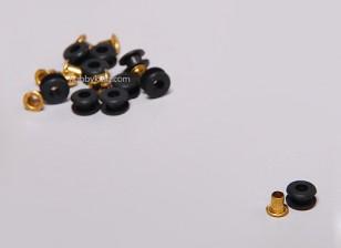 Grommet caoutchouc pour servos (10pcs / set)