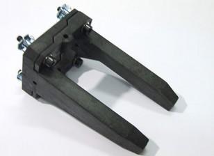 Supports de moteur réglables (Large: 40-70 Taille)