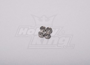 HK-250GT roulement à billes 5 x 2,5 x 2mm (4pcs / set)