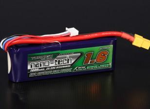 Turnigy nano-tech 1600mAh 3S 25 ~ 50C Lipo Paquet