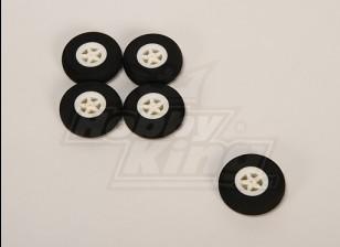 Mousse Wheel Light (Diam: 40, Largeur: 11mm) (5pcs / bag)