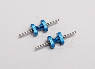 Simple main Hélice Balancer Alloy (2pcs / sac)