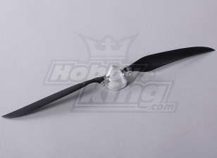 Folding Propeller W / Alloy Hub 45mm / 14x8 Shaft 4mm (1pc)