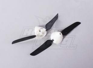 Folding Propeller W / Hub 18mm / 2mm 5.1x3.1 de l'arbre (2pcs)