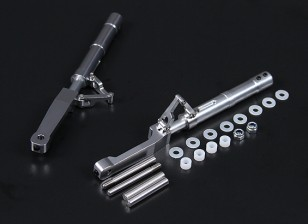 Alliage Oleo Jambes Offset P-47 Style de 140mm 2pc