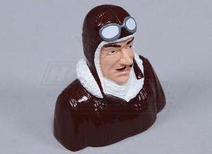 Résine Dick Dastardly Pilot (H80 x W85 x D52mm)