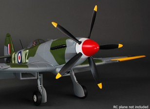 Durafly ™ 5-Blade Hélice / Spinner Set pour Mk-24 Spitfire