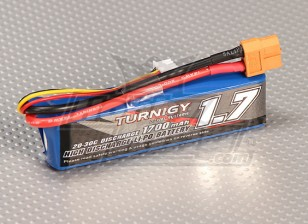 Turnigy 1700mAh 2S 20C Lipo Pack (Suits 1 / 16e monstre Beatle, SCT et Buggy)