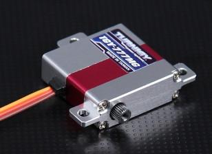 Turnigy ™ GTY-777 Slim Wing DS / Alloy MG Case Servo 5,5 kg / 0.10sec / 23g