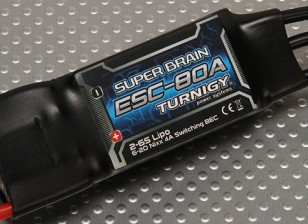Turnigy super cerveau 80A Brushless ESC