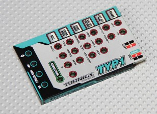 Turnigy TY-P1 25Amp Brushless ESC Programmation Card