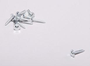 Autotaraudeuse Vis M2x12mm Phillips tête w / épaule (10pcs)