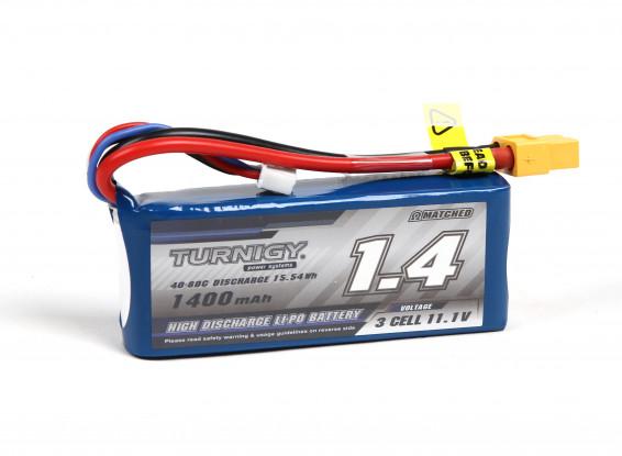 Turnigy 1400mAh 3S 40C Lipo Pack w/XT60