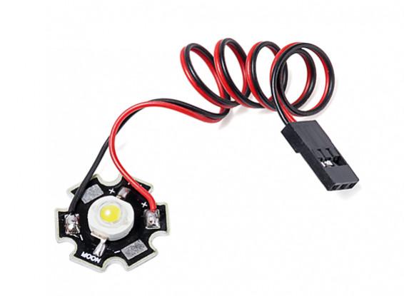 Super Bright 3Watt White LED Lamp with Aluminium Heatsink