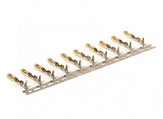 JR Gold Plated Connectors (Female) (10 pcs)
