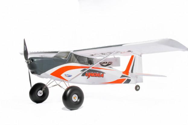 """Durafly Tundra V2 (PNF) - Orange / Grau - 1300 mm (51 """") Sportmodell mit Klappen"""