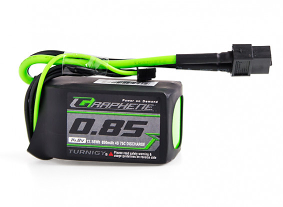 Turnigy Graphene Panther 850mAh 4S 75C Battery Pack w/XT60