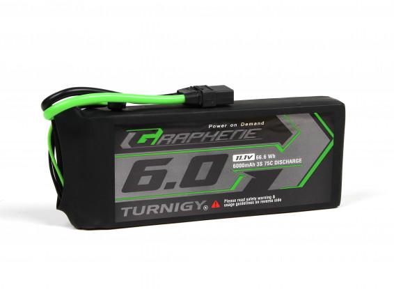 Turnigy Graphene Panther 6000mAh 3S 75C Battery Pack w/XT90