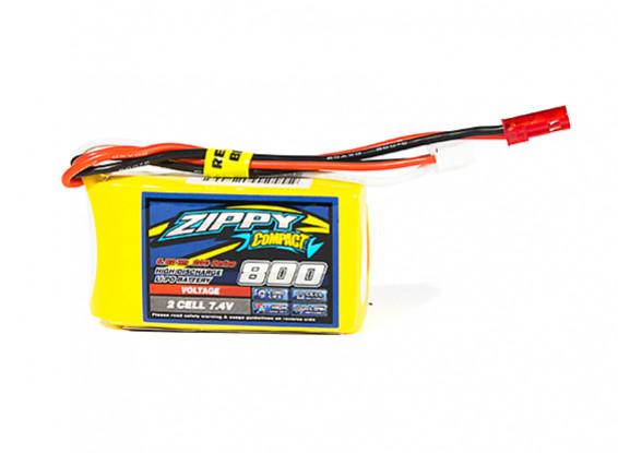 ZIPPY Compact 800mAh 2S1P 20C Lipo Pack