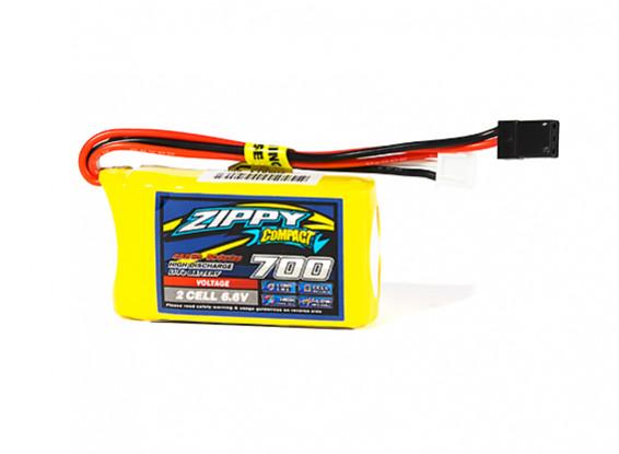 ZIPPY Compact 700mAh 6.6V 5C LiFePo4 Receiver Pack