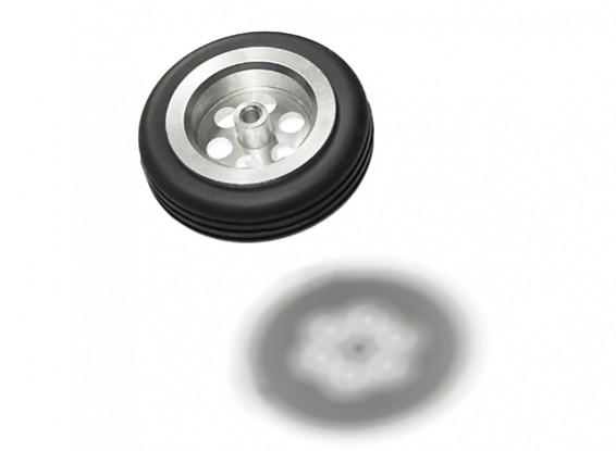 Turnigy Scale Jet Alloy Wheel 54mm w/Rubber Tire