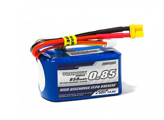 Turnigy 850mAh 4S 60C Lipo Pack w/XT30