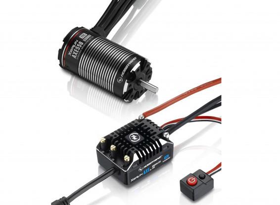 Hobbywing XERUN AXE550-3300KV FOC V1-1 Rock Crawler Brushless Combo 1